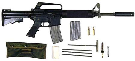 Автоматическая винтовка М16 (