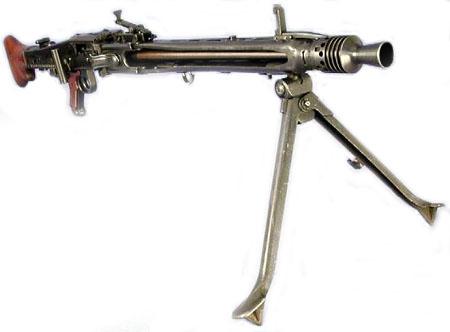 Единый пулемет MG-42 поступил